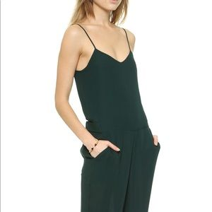 Gorgeous Theory silk romper #180219003